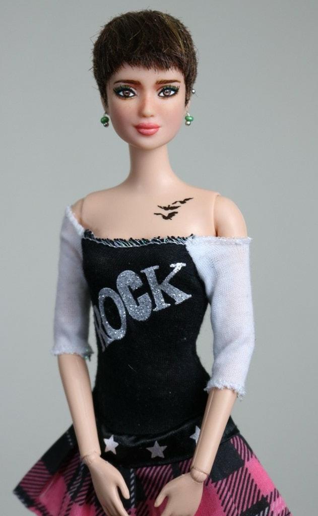 Out Of Stock Becca Ooak Divergent Tris Barbie Repaint